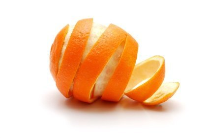 an orange peel